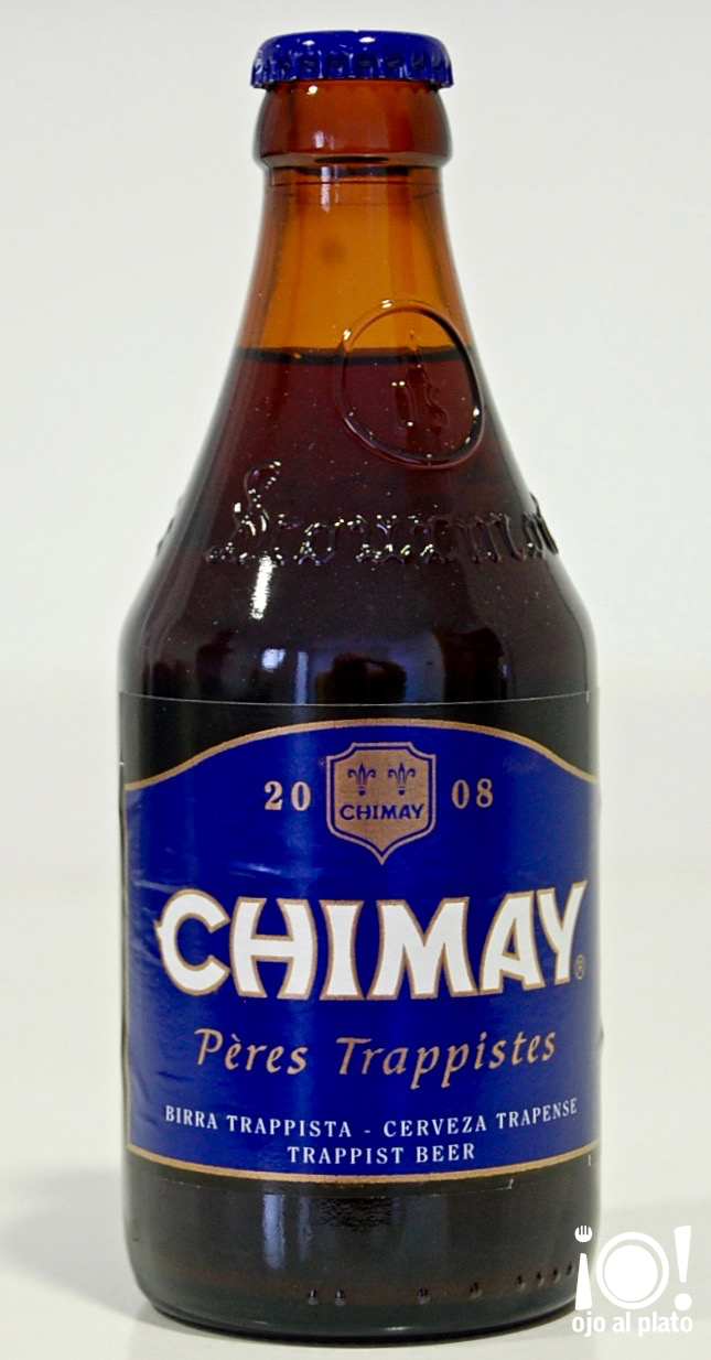 botella chimay azul