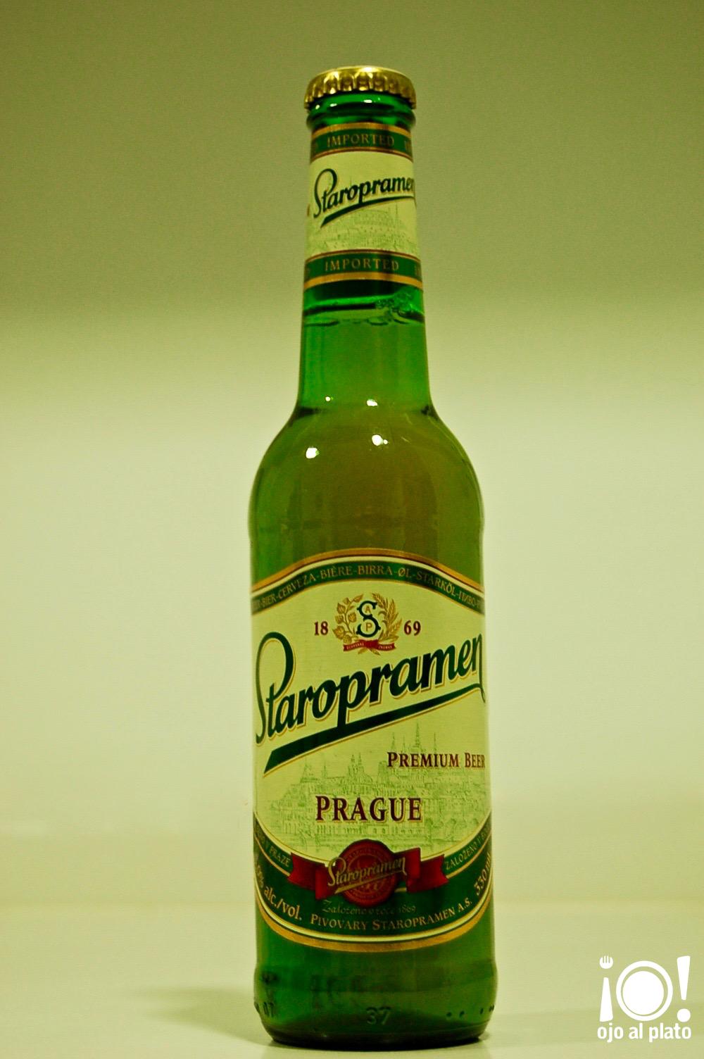 botella staropramen
