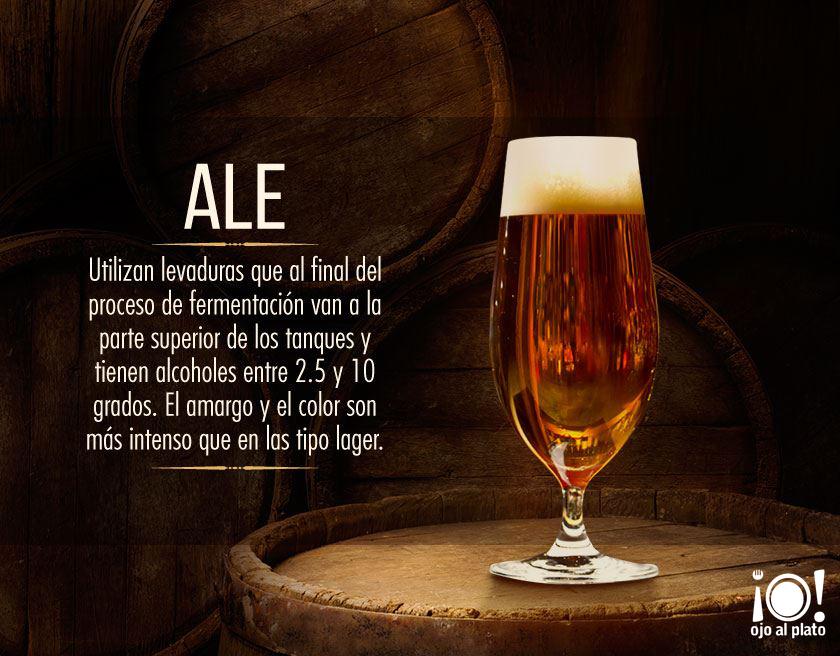cervezas ALE