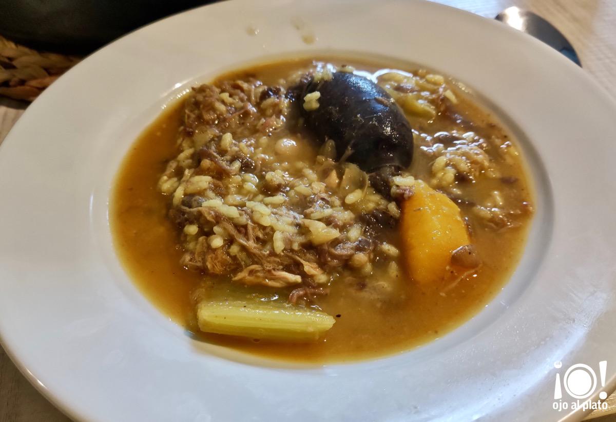arroz en fesols i naps