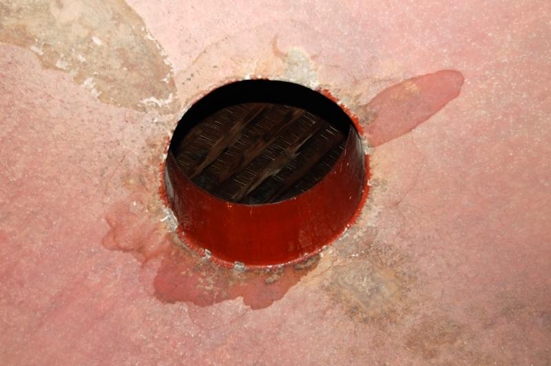 interior depósito de cemento