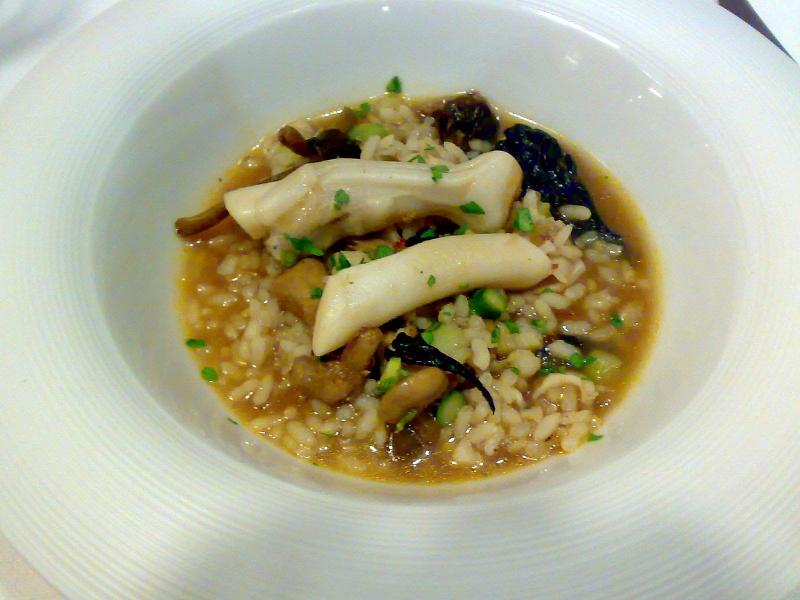 arroz de navajas