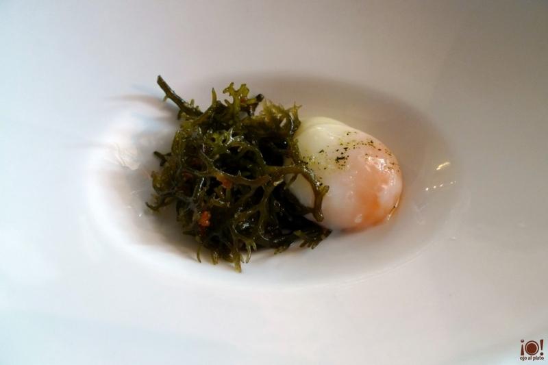 huevo cocido a baja temperatura