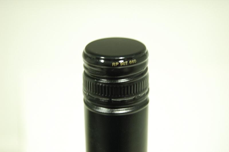aspecto de la botella