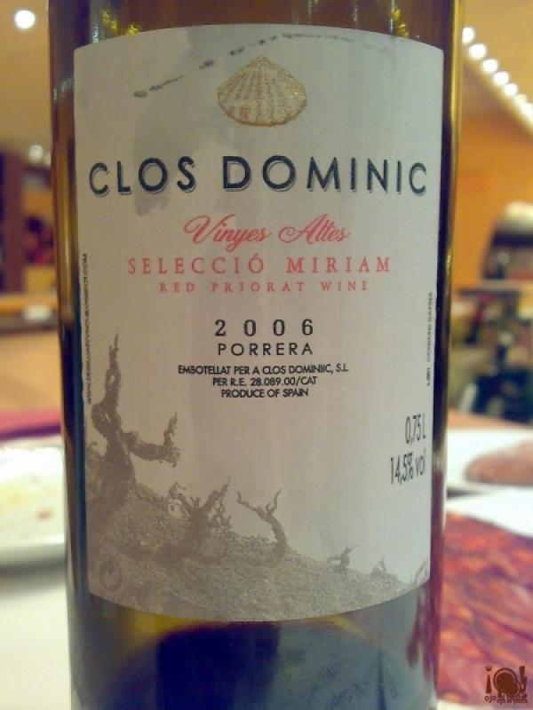 Clos Dominic 2006 Porrera