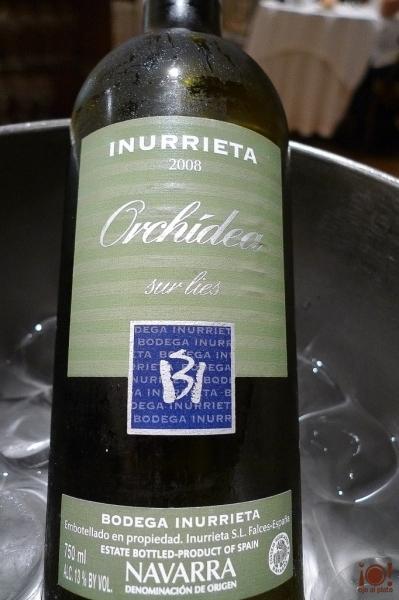 vino blanco navarro