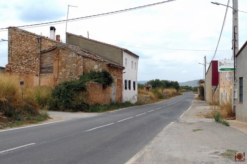 carretera de acceso