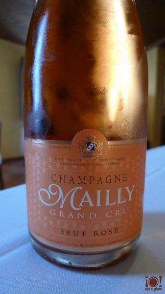champagne rosado