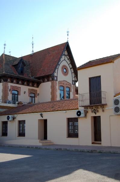 lateral del edificio