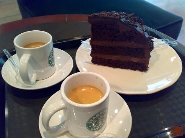 El café lo tomamos en Starbuck's