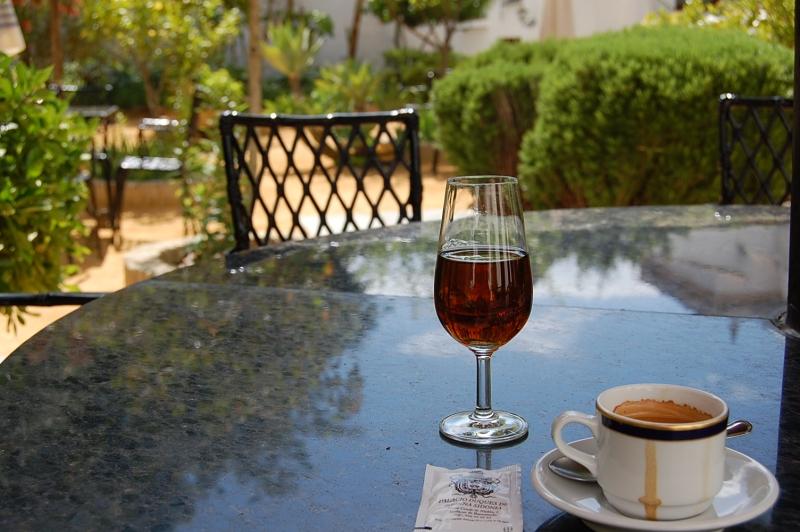 cafe y amontillado