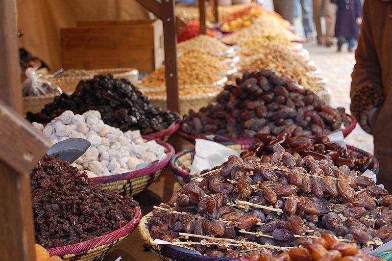 dátiles y frutos secos