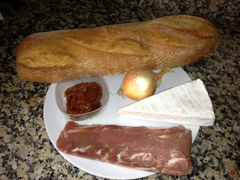 Ingredientes tosta