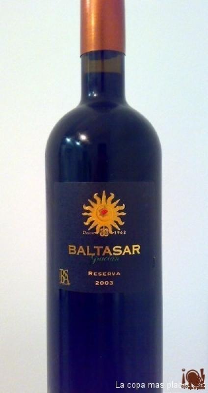 Baltasar Gracian, reserva 2003