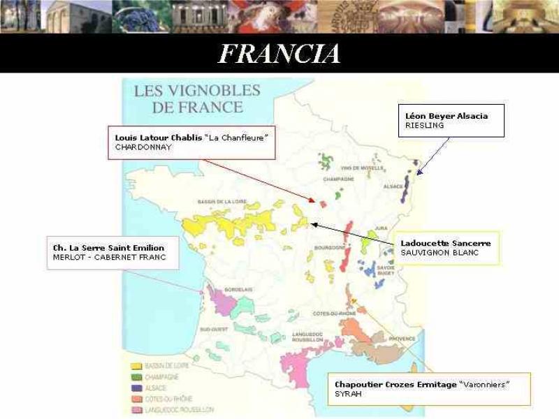 zonas vinícolas de Francia
