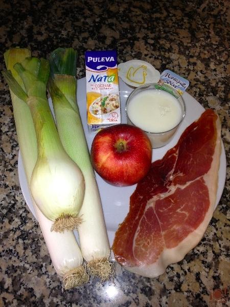Ingredientes vichyssoise